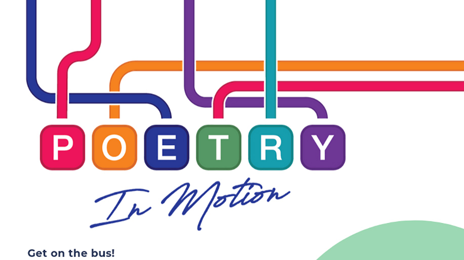 Poetry-In-Motion Celebration! Get on the bus…